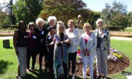 The Mothers at Historical Memorial of Cherished Mother and Child
